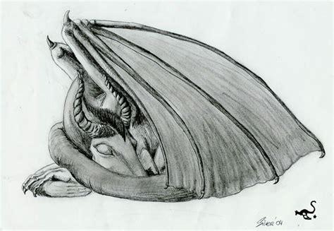 sleeping dragon by sylverstorm on deviantart