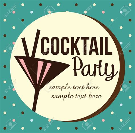 vintage cocktail party clipart retro cocktail party clipart 66