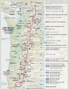 pct map california california map