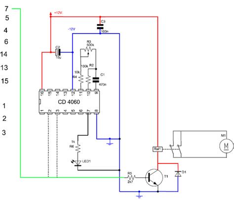 Mini Lifier 12vdc electronic timer circuit diagram electrical and
