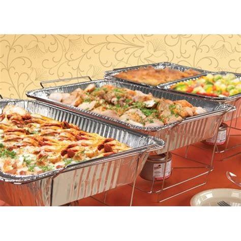 tigerchef tc 20539 buffet chafer food warmer chrome wire
