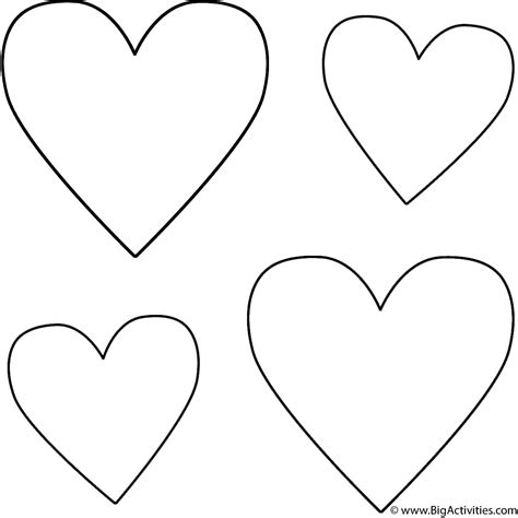 coloring pages of big hearts search results for free printable valentine word search