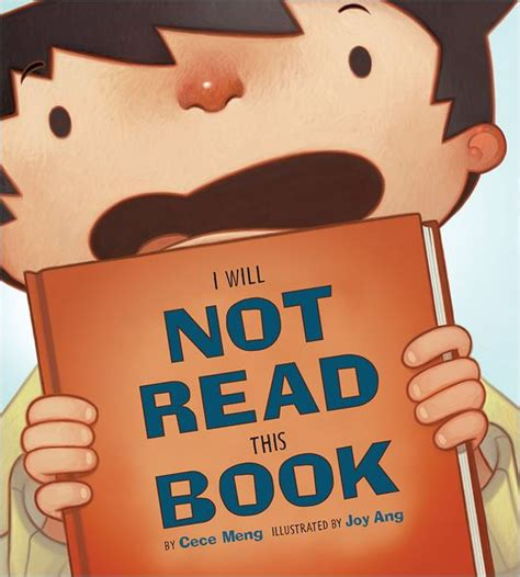 not books i will not read this book by cece meng ang