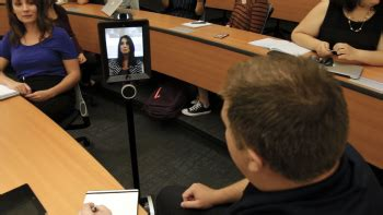 Flex Mba Asu by Asu Offers Interactive Robots For Mba Students To Attend