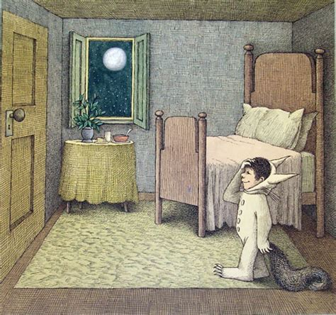 where the wild things are bedroom opening wednesday too many thoughts to chew a sendak