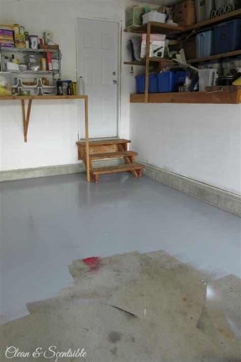 paint  garage floor clean  scentsible