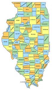 us map illinois illinois