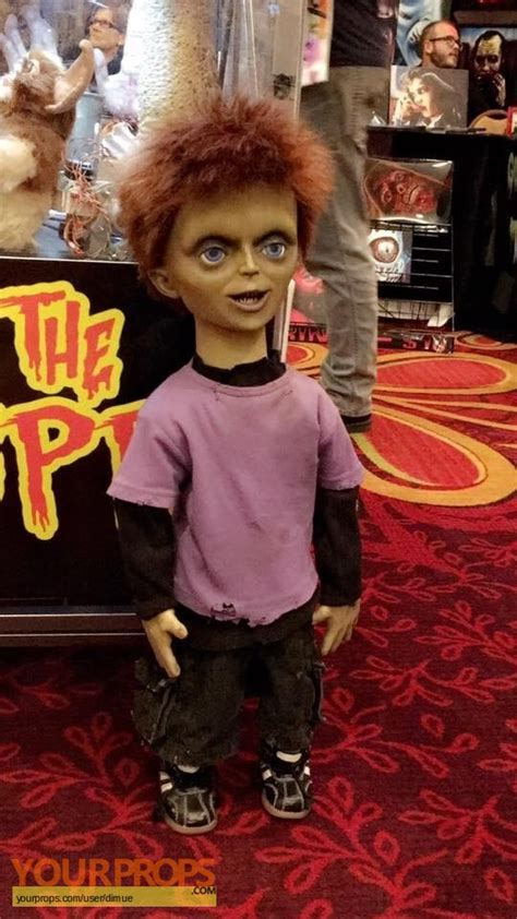 chucky movie prop for sale seed of chucky screenused glen puppet original movie prop
