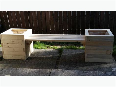 planter box bench seat planter boxes with a bench seat surrey incl white rock