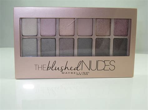 Maybelline The Blushed Palette maybelline the blushed eyeshadow palette reviews in