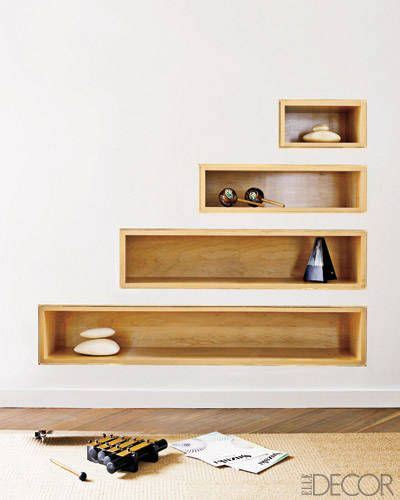 recessed bookshelves design solutions sustainably chic mid century modern