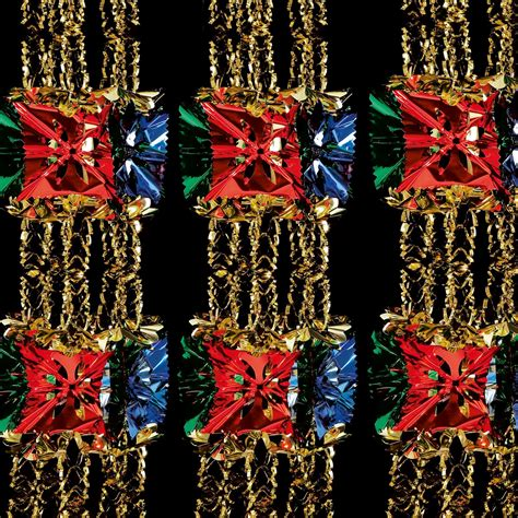 2 7m foil luxury garland large foil christmas xmas