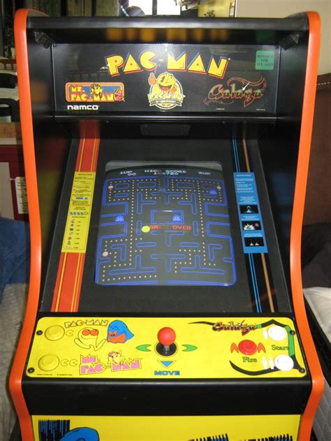arcade cabinet for sale 1 750 25th anniversary pacman full size arcade game