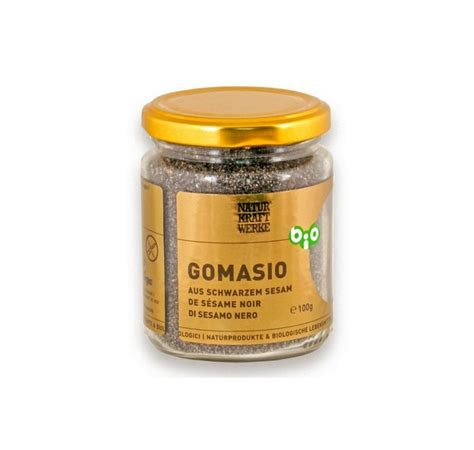 Black Sesame Seed 100gr gomasio from black sesame seeds bio casa