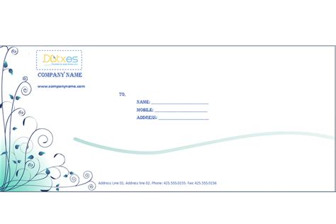 corporate envelope template envelope templates dotxes