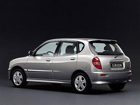 Daihatsu Sirion daihatsu sirion m1 1 3 i 16v 102 hp