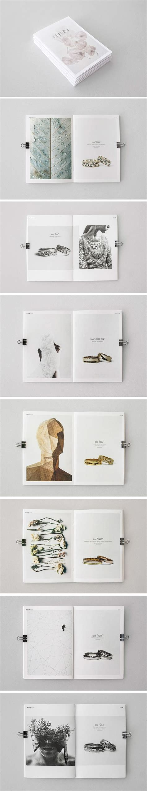 Wedding Brochure Layout by 8 Best Jewelry Brochures Images On Brochure