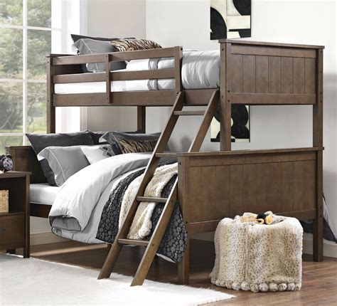 full size beds for boys bunk beds twin over full size wood bunkbeds girls boys