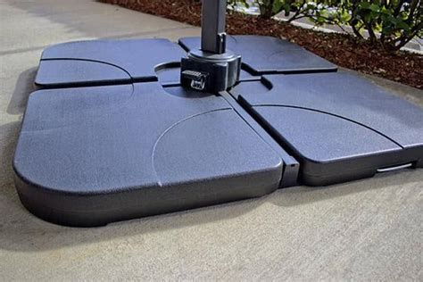 Offset Patio Umbrella Base Weights Cantilever Umbrella Base Weight Set 99 Patio