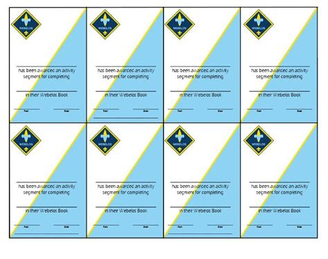 printable loop card games 82 best images about webelos cub scouts on pinterest