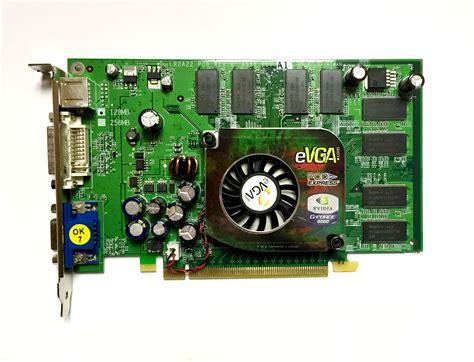 Vga Card Geforce 6600 Evga Geforce 6600 128mb Ddr Pci Express Pcie Pci E Dvi Vga