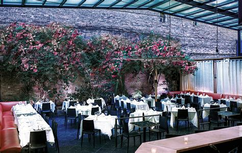 Restaurants With Gardens Nyc by Revel Restaurant Bar Year Garden Meatpacking Nyc