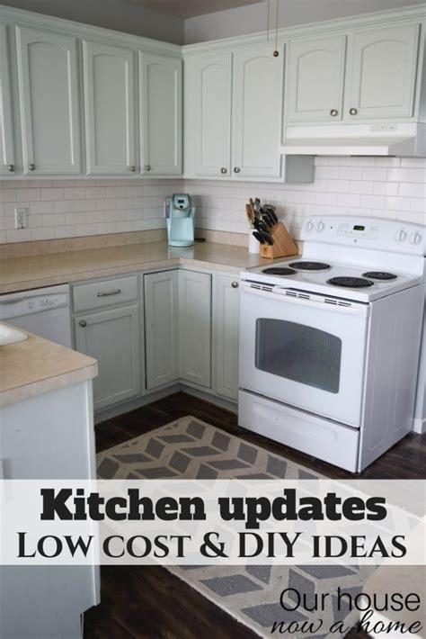 Cost To Update Kitchen by Improve A Small Kitchen With Small Updates And Diy Ideas