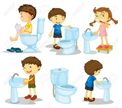 kids can clean the bathrooms clean bathroom clipart kid collection 7