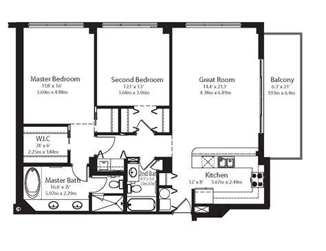 Small Condo Floor Plans by The Collins Nmp