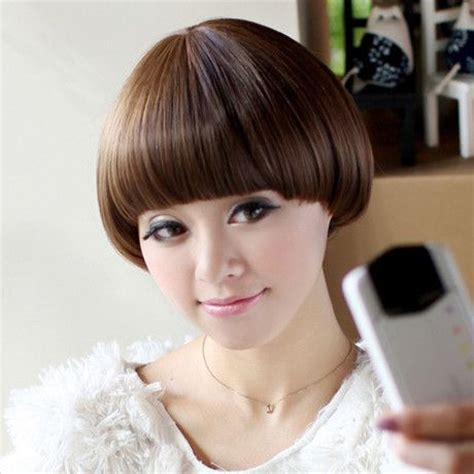 short mushroom style wigs 576 best images about 01剪髮設計 bowl cut on pinterest