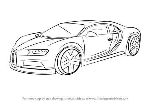 learn how to draw bugatti veyron sports cars step by learn how to draw bugatti chiron sports cars step by
