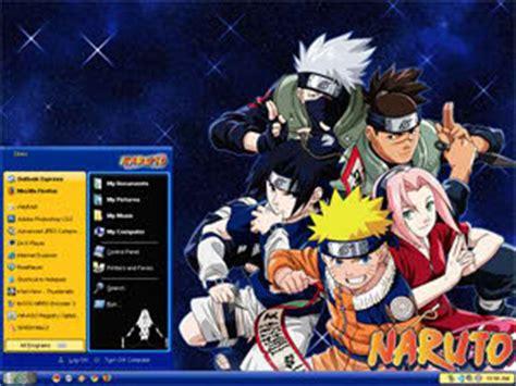 best themes of naruto desktop themes xp naruto ditani themes