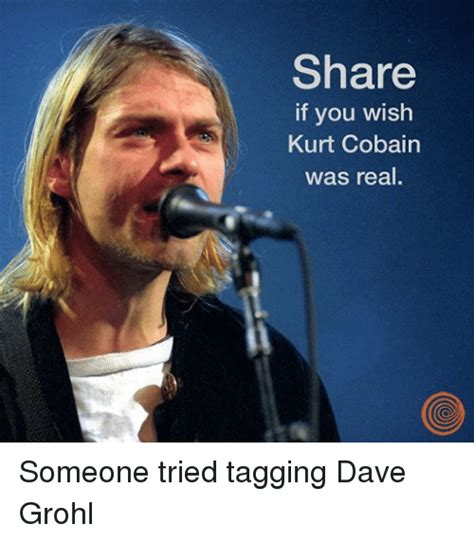 Dave Grohl Meme - funny kurt cobain memes of 2017 on sizzle topping