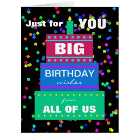 Printable Birthday Cards From Group | large print birthday cards invitations photocards more