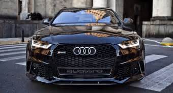 2017 audi rs6 performance blacked out 605hp