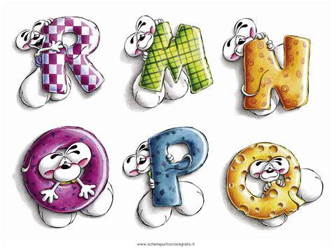 lettere alfabeto particolari diddl 03 schema punto croce gratuito da stare