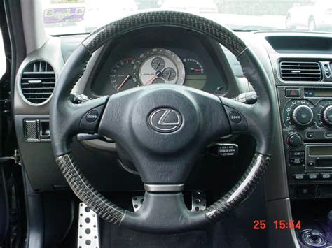 Lexus Is300 Interior Parts by Is300 Real Carbon Fiber Steering Wheels W E Shift