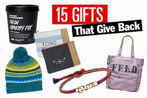 57 best images about gifts that give holiday presents