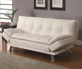 Sofa Bed Sleeper Contemporary White Sleeper Sofa Bed Modern Futons New York By Sykes