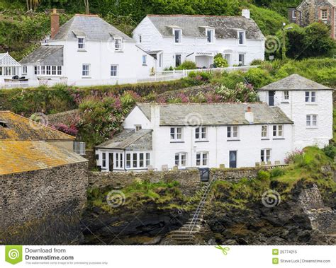 port isaac cottages royalty free stock photo image 25774215
