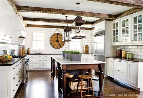 rustic white kitchen whitehaven a beautiful atlanta house please come inside