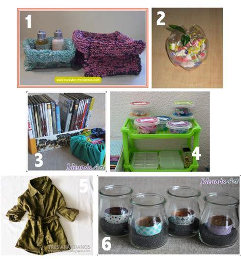 material reciclado facilisimocom seis ideas diy para reutilizar manualidades