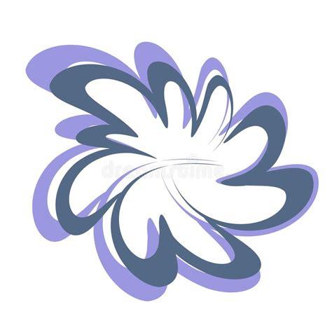 clipart fiore disegno astratto clipart fiore illustrazione di stock