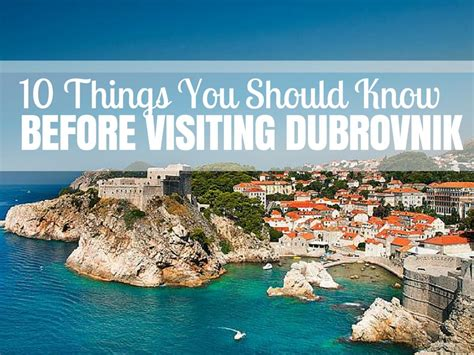 Dream Home Plan by Ten Things You Should Know About Dubrovnik Travel Blog