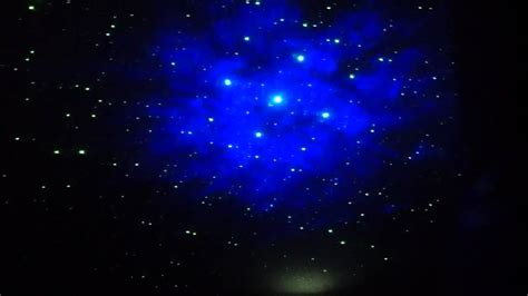 galaxy projector for ceiling test run of moon in my room