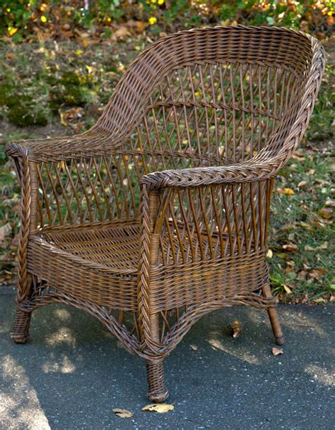 Antique Rattan Furniture by Antique Wicker Chair At 1stdibs