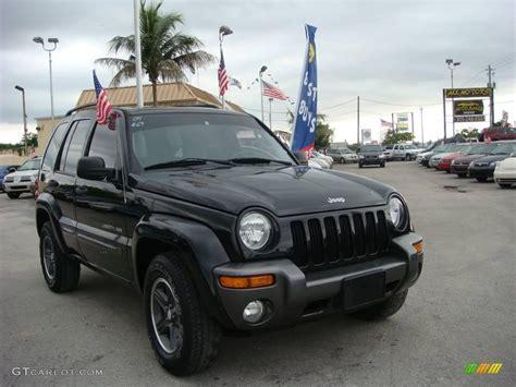 2004 Jeep Grand Liberty Edition 2004 Black Clearcoat Jeep Liberty Sport 4x4 Columbia