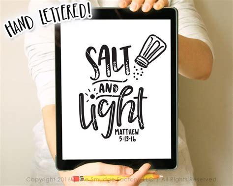 salt and light bible salt and light svg matthew 5 13 16 bible verse svg
