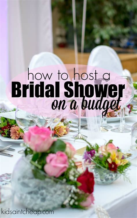 Host A Bridal Shower by Hosting A Bridal Shower On A Budget Ain T Cheap