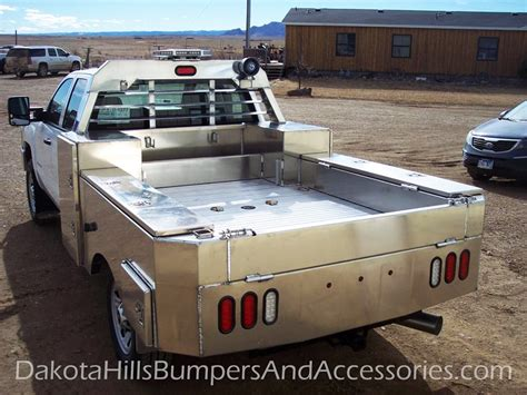 custom truck tool boxes for flatbeds dakota hills bumpers accessories flatbeds truck bodies